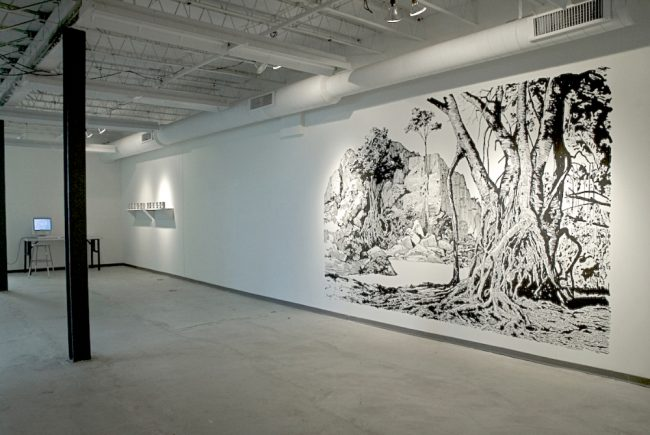 Installation view of Anatomy of an Archive, image courtesy of www.josferreira.com